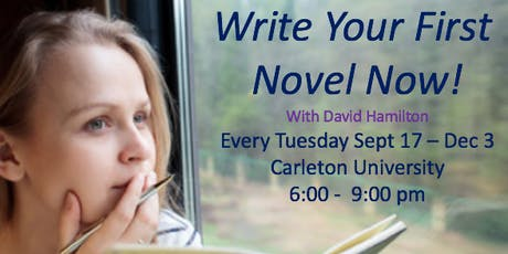 Write Your First Novel Now! Part I tickets