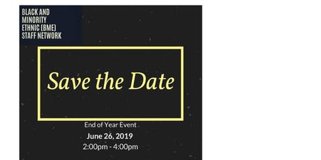 BME Staff Network End of Year Social tickets