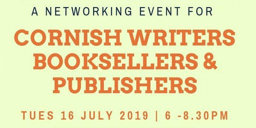 A networking event for Cornish writers, booksellers and publishers