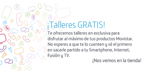 Talleres Fusión Store Palma: Aprovecha todo el potencial que Movistar pone a tu disposición entradas