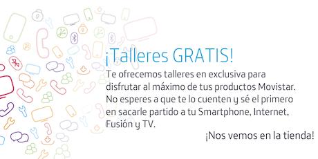Talleres Fusión Store Palma: Aprovecha todo el potencial que Movistar pone a tu disposición Tickets