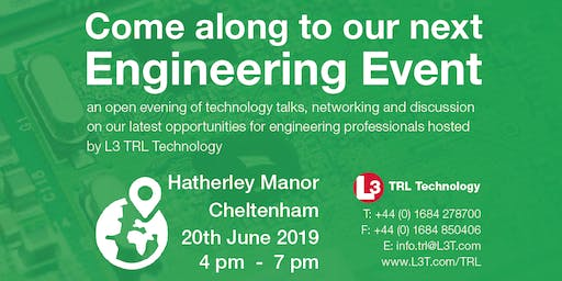 Engineering Open Evening hosted by L3 TRL Technology