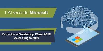 Workshop: Microsoft per l'Intelligenza Artificiale