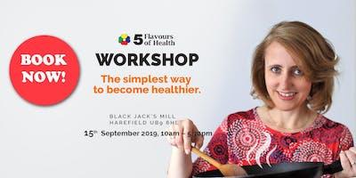 5 Flavours of Health AUTUMN Workshop