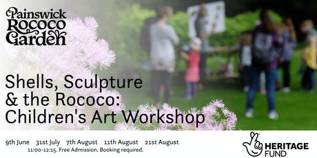 Shells, Sculpture and the Rococo: Children's Art Workshop tickets