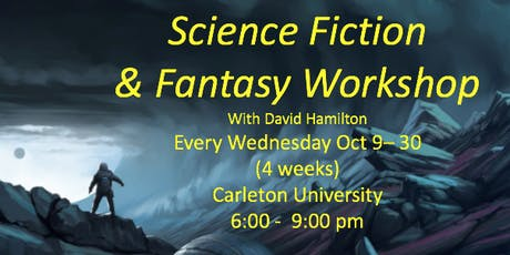 Science Fiction & Fantasy Writing Workshop tickets