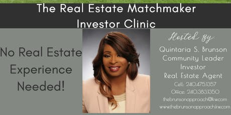 The Real Estate Matchmaker Investor Clinic tickets