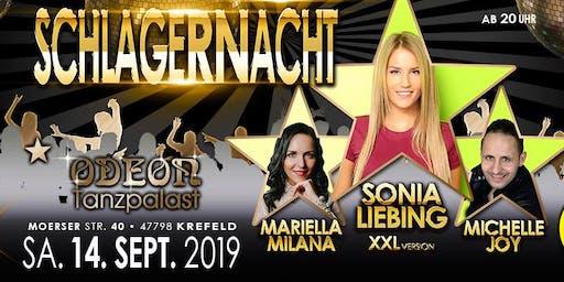 Schlagernacht Krefeld 14.9.2019