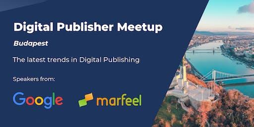 Digital Publisher Meetup: Budapest