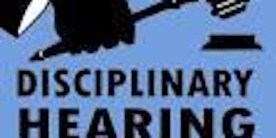 Employment Law Basics - Disciplinary process