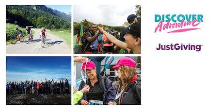 Discover Adventure Charity Information Session July 2019 tickets
