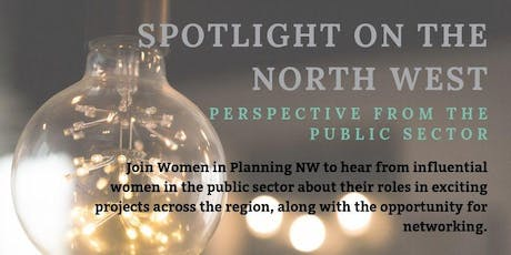 Spotlight on the North West - Perspectives from the Public Sector tickets