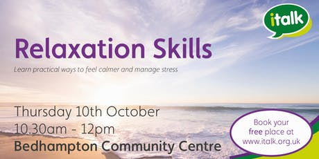 Relaxation Skills - Bedhampton tickets