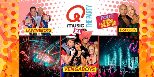 Qmusic The Party FOUT (XL) - Tilburg