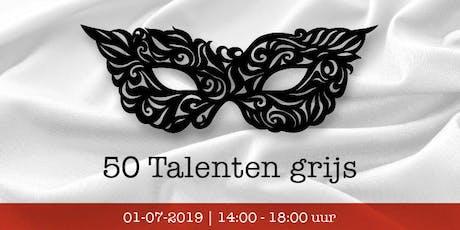 50 Talenten grijs tickets