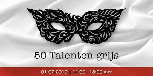 50 Talenten grijs