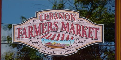 Yoga at the Lebanon Farmers Market- Saturdays