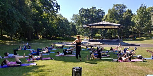 Pilates in the Park with SNC Pilates