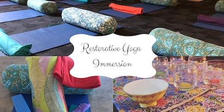 Restorative Yoga Immersion tickets