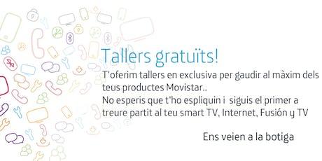 Tallers Fusión Gerona: Aprofita tot el potencial que Movistar posa a la teva disposició. tickets