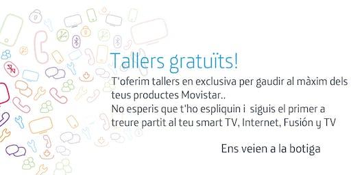 Tallers Fusión Gerona: Aprofita tot el potencial que Movistar posa a la teva disposició.