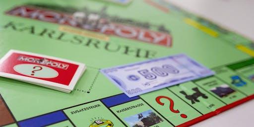 1. Karlsruher Monopoly Stadtmeisterschaft der Wirtschaftsjunioren im Schloß