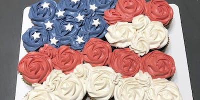 Flag Design Cupcake Class!