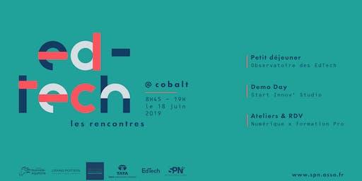 Les Rencontres EdTech @ Cobalt