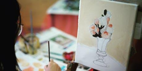 Weekend Art Workshop (OIL PAINTING) - 21/07 tickets