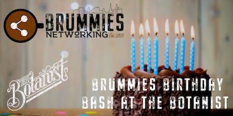 Brummies Birthday Bash @ The Botanist tickets