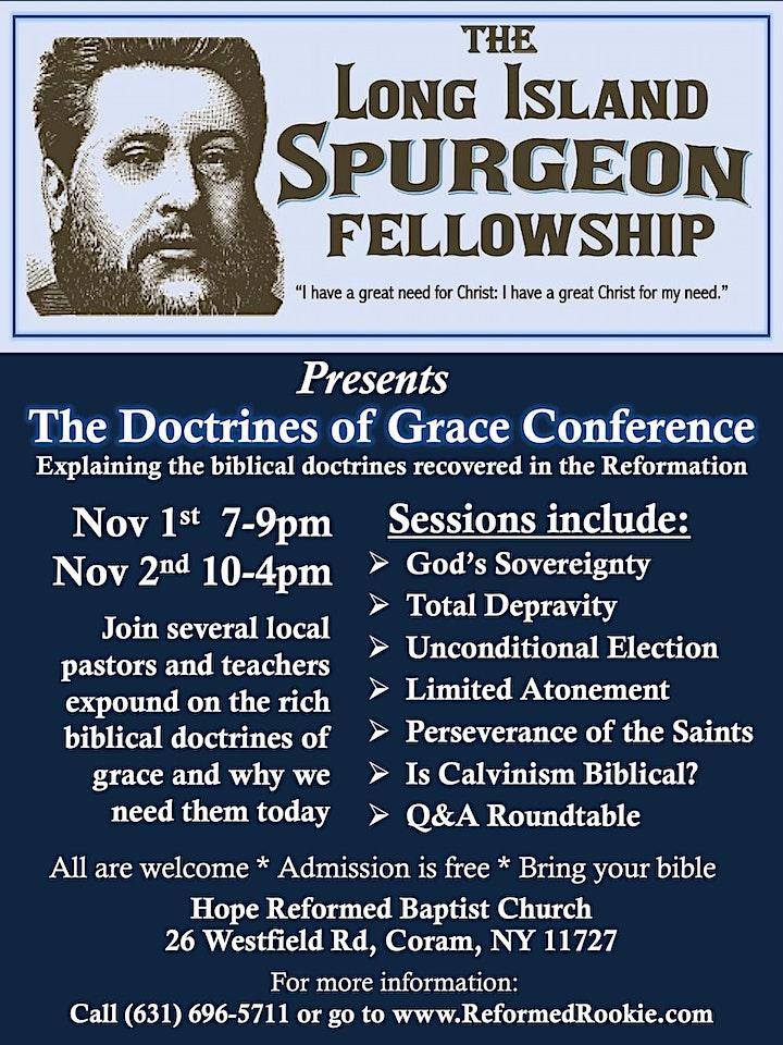 LI Spurgeon Fellowship: Doctrines of Grace Conference image