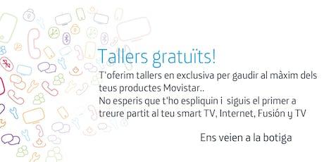 Tallers Fusión Lleida: Aprofita tot el potencial que Movistar posa a la teva disposició entradas