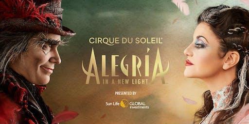 Cirque du Soleil in Montreal - ALEGRIA