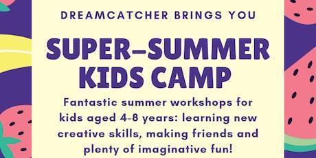 SUPER-SUMMER KIDS' CAMP tickets