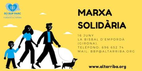 Marcha solidaria BúBupParc entradas