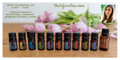 doTERRA Introduction to Oils Class - Fleet (local Class)