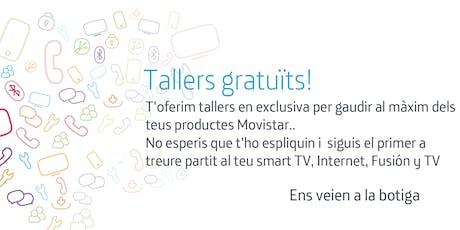 Tallers Fusión Tarragona: Aprofita tot el potencial que Movistar posa a la teva disposició. entradas