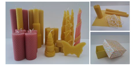 Beeswax Candle Making Workshop tickets