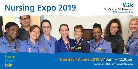 Guys and St Thomas' Nursing Expo 2019 tickets