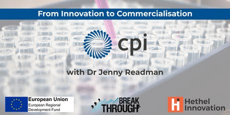 From Innovation to Commercialisation tickets
