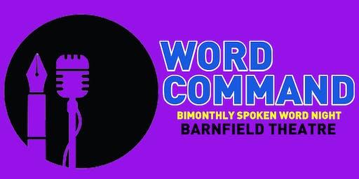 Word Command : Spoken Word Evening