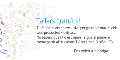 Tallers Fusión Barcelona Diagonal: Aprofita tot el potencial que Movistar posa a la teva disposició entradas