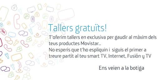 Tallers Fusión Barcelona Diagonal: Aprofita tot el potencial que Movistar posa a la teva disposició