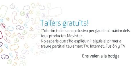 Tallers Fusión Barcelona Gran de Gracia: Aprofita tot el potencial que Movistar posa a la teva disposició. entradas