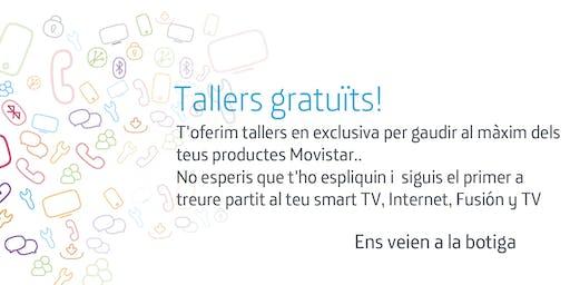 Tallers Fusión Barcelona Gran de Gracia: Aprofita tot el potencial que Movistar posa a la teva disposició.