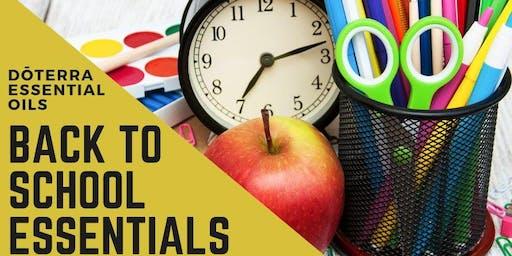 Summer Series: Back to School Essentials