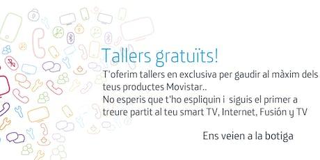 Tallers Fusión Manresa: Aprofita tot el potencial que Movistar posa a la teva disposició. entradas