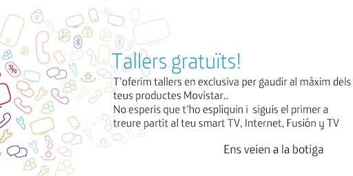 Tallers Fusión Manresa: Aprofita tot el potencial que Movistar posa a la teva disposició.
