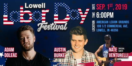 Adam Doleac and Austin Burke Lowell Labor Day Fest September 1 tickets