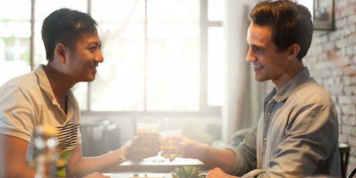NYC: Gay Men's Single Mingle. Hi-Tech Speed Dating for Love Jul 31 6pm